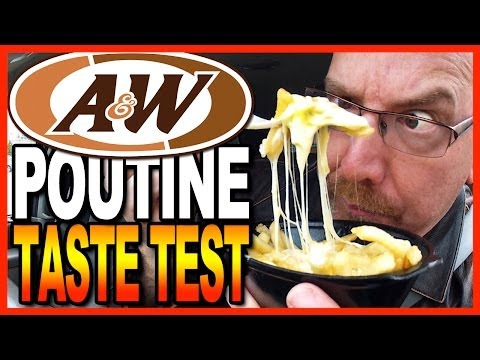 A&W Poutine Taste Test & Review