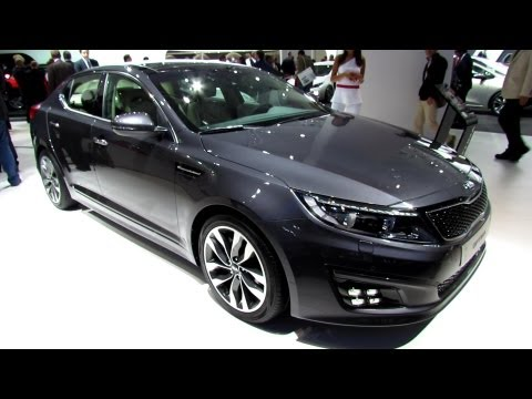 2014 KIA Optima - Exterior and Interior Walkaround - Debut at 2013 Frankfurt Motor Show