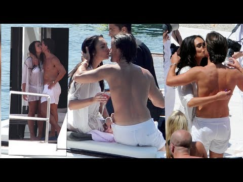 Newly Wed Tamara Ecclestone and Jay Rutland Smooch at Wedding Beach Party