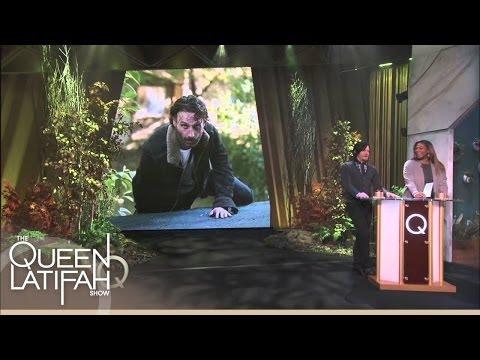 Norman Reedus Licks Co-stars! | The Queen Latifah Show