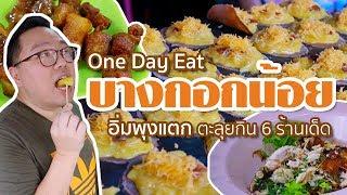 VLOG 60 l One Day Eat @บางกอกน้อย • อิ่มพุงแตก 6 ร้านเด็ด l Kia Zaab