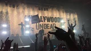 Hollywood Undead live concert 2019 Tipsport arena