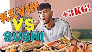 KEVIN VS SUSHI!! PIU' DI 2.9 KG!!!