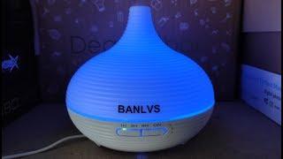 Review: Banlvs Humidificador Ultrasonico Aromaterapia Luz LED RGB