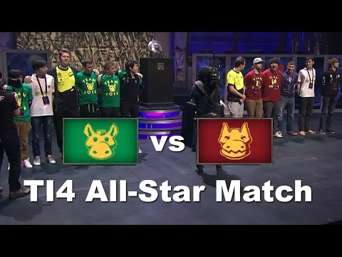 ti4 All Stars Match - Team rOtk vs Team XBOCT - Dota 2