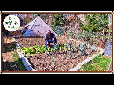 Garten Im März #2/ Beete Vorbereiten Und Letzte Ernten/ Beetplan Erklärt