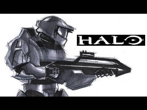 Halo Characters Drawings How to Draw Master Chief From