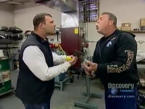 American Chopper Fight