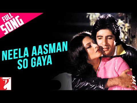 Neela Aasman So Gaya (Male) - Full Song - Silsila