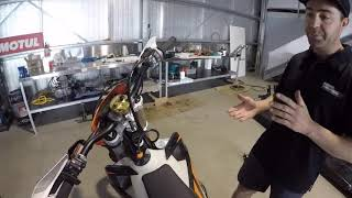HOW TO - set up your bike for the Finke desert race