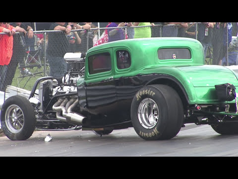 Drag Racing THRILLS and SPILLS - Carnage Fest 2017
