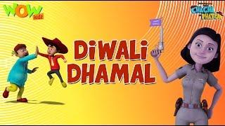 Download Dilwali Dhamal - Chacha Bhatija - Wowkidz - 3D Animation Cartoon for Kids - As seen on Hungama TV 3Gp Mp4