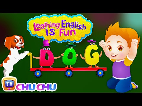 Learning English Is Fun Official Trailer | ChuChu TV Preschool Educational Language Learning Series