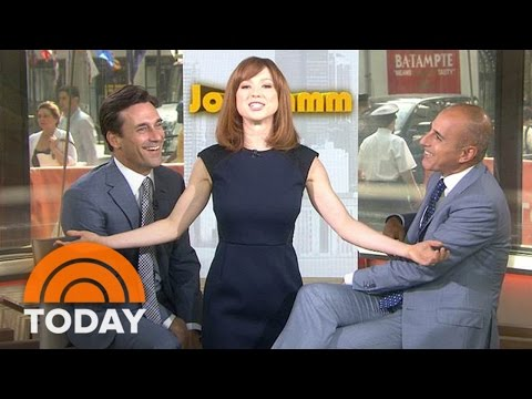 Jon Hamm Talks 'Minions,' Reunites With Ellie Kemper | TODAY