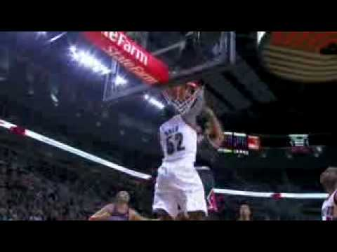 derrick rose dunking on suns. NBA Derrick Rose Dunk Over