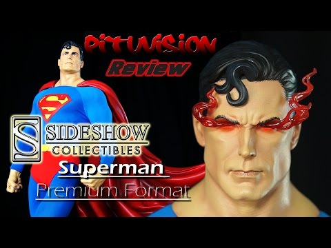 Sideshow Collectible Exclusive Superman Premium Format Statue Video Review