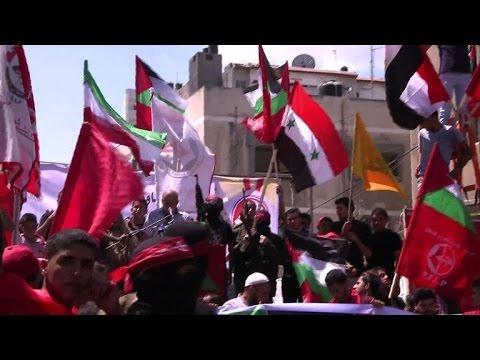 Les militants du FPLP célèbrent une semaine de trêve à Gaza