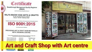 Art and Craft shop with Art Centre