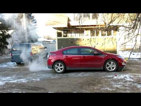 Chevy Volt Sub-Zero Start and Drive