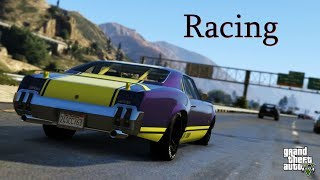 Grand Theft Auto V | Racing On PS4 (Crazy Custom Offroad Tracks)