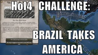 Hearts of Iron 4 Challenge: Brazil takes America