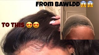 HOW TO PUT LACEFRONT WIG ON STEP BY STEP (BEGINNER FRIENDLY)  FT KLAIYIHAIR