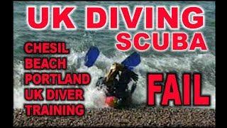 Scuba Diving UK FUNNY FAIL Chesil Beach Dive Dorset