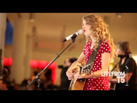 JetBlue - Taylor Swift Live from T5 - Back to December - HD Music Videos