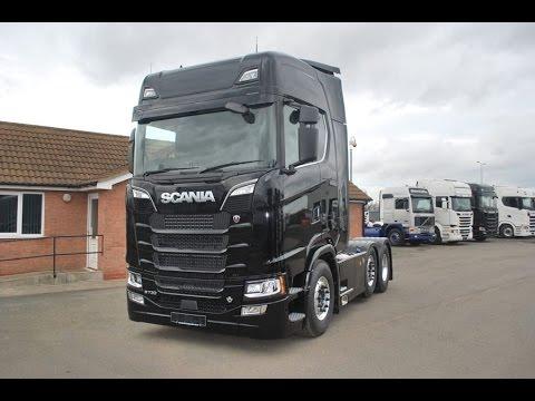2018 scania s730 6x2 black edition next generation youtube