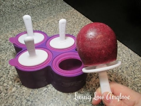 Zoku Round Pop Mold Living Low Amylose Youtube