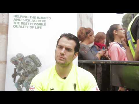 Exclusive: Henry Cavill Interview At The 'Gibraltar Rock Run'