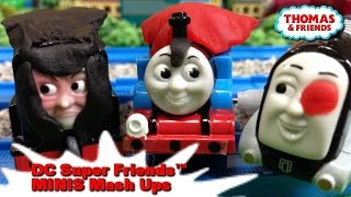 "Thomas and friends ""DC Super Friends™ MINIS Mash Ups Origin Story!"""