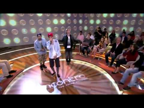 Encontro com Fátima Bernardes Banda Pollo canta Hit Vagalumes 21 05 13
