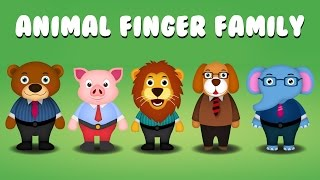 Finger Family Collection | Top 5 Animal Finger Family Songs