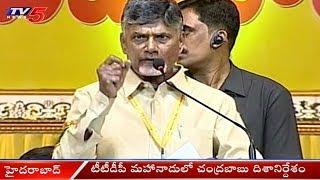 టీటీడీపీ మహానాడులో చంద్రబాబు దిశానిర్దేశం..! | Chandrababu Speech In TTDP Mahanadu