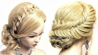 2 Simple Party Hairstyles For Medium Hair