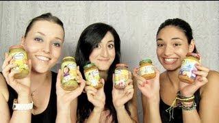 Baby food challenge met bff's Awisa en Tatjana