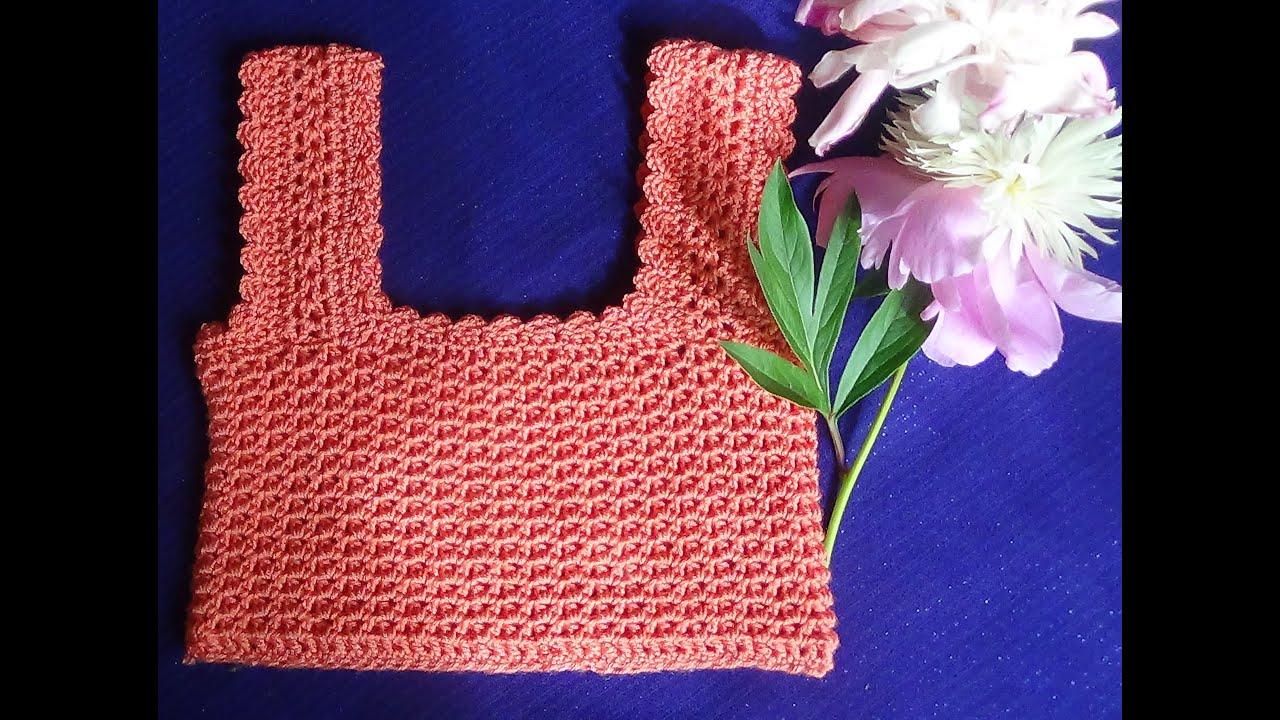 Платья топ вязание крючком для начинающих