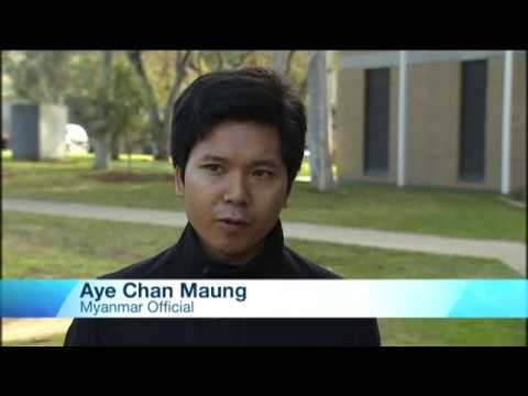 SBS News about floods in Myanmar in 2015: Interviews with Lwin Lwin Aung and Aye Chan Maung