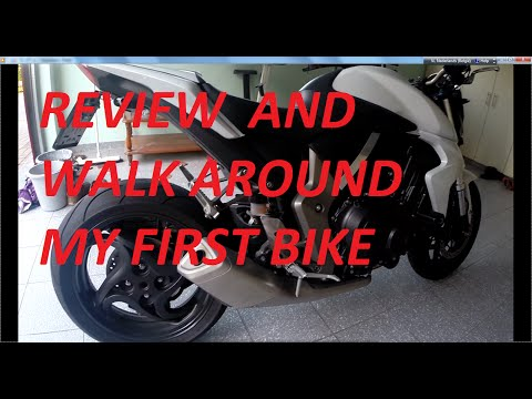 HONDA CB1000R  - walkaround - short review -my first bike