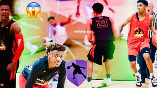 BRONNY JAMES JR AND DIOR JOHNSON ARE A CRAZY DUO! ANKLE BREAKER OF THE YEAR! -NBA2K19- AAU