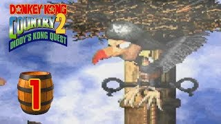 Donkey Kong Country 2: Diddy's Kong Quest (102%) - Episode 1
