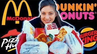 CRAZY FAST FOOD CHEATDAY | EVERY GIRLS DREAM