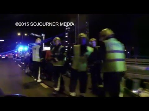 11/12/2015 Severe Delays After Accident On London's M4 Motorway