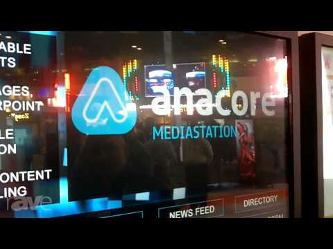 InfoComm 2013: Anacore Shows Data Collection Application