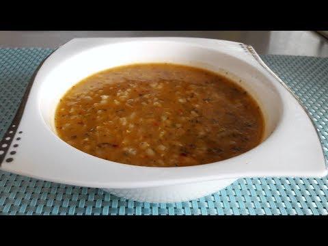 Суп невесты  Эзо (Ezogelin corbasi). Турецкий суп из чечевицы.