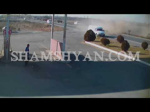 Արմավիրի մարզի ողբերգական ավտովթարի պահը ֆիքսվել է տեսախցիկի կողմից