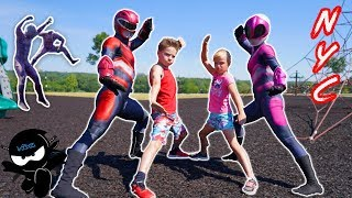 Power Rangers NINJA KIDZ NYC Adventure!