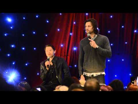 Jared Padalecki and Misha Collins talk pranks