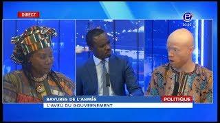 EQUINOXE SOIR ( BAVURE DE L'ARMEE: L'AVEU DU GOUVERNEMENT) EQUINOXE TV DU 13 08 2018